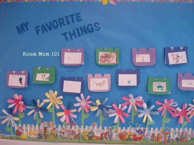 Smiling Flowers Bulletin Board Decorating Idea - KinderArt