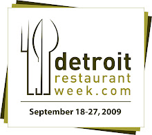 Dining in Detroit is proud to have been the official blog of the inaugural DRW