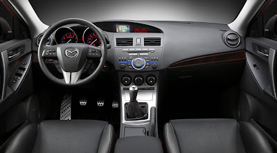 Steering-wheel-mounted controls MAZDASPEED3