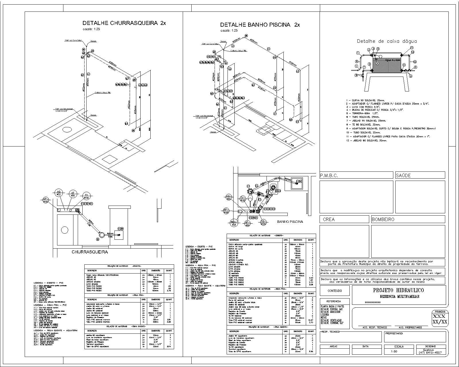 Geórgeo Projetos: Detalhamentos #3F3F3F 1600 1280