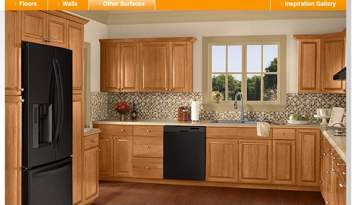 when we want it or The Home Depot Kitchen Visualizer  Final colors