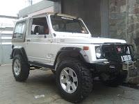Suzuki Katana Modifikasi