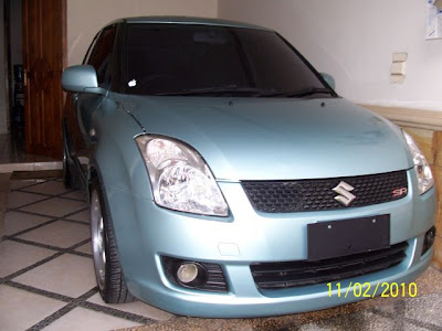 Suzuki Swift, Suzuki Swift ceper, Modifikasi Suzuki Swift
