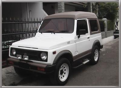 Suzuki Katana Putih Orgnl