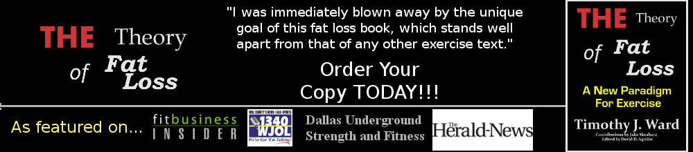The Theory of Fat Loss Book