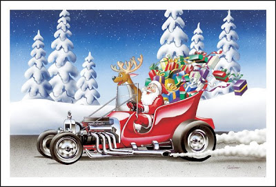 Free christmas cards hot rod christmas cards hot rod christmas cards m4hsunfo