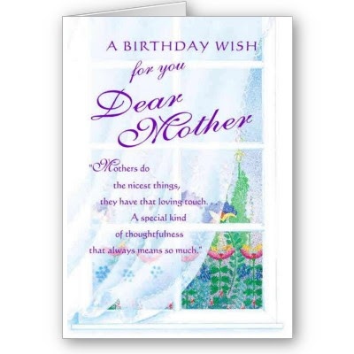 Mother's Birthday Cards