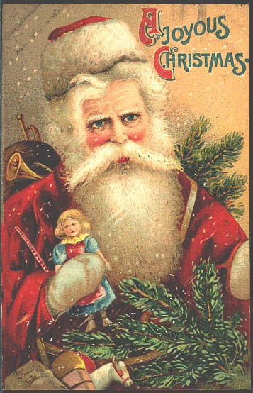 Free Christmas Cards Antique Christmas Postcards Antique