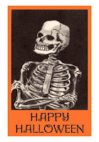 Happy Halloween Skeleton Wishes