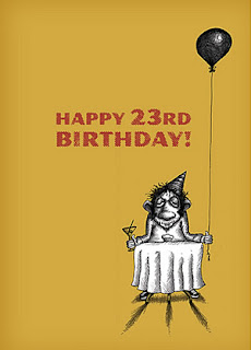 Happy 23rd Birthday Cards