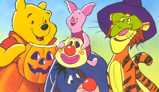 pooh and friends halloween wish