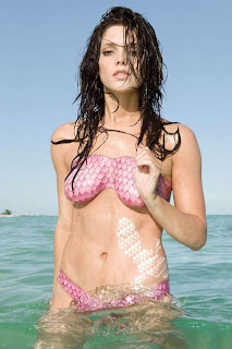 Ashley Greene Hot Body Paint Photo Shoot