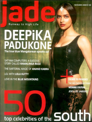 Jade brings Deepika Padukone in the launch issue