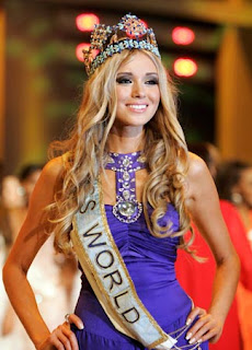 Kseniya Sukhinova crowned Miss World 2008