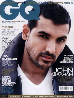 John Abraham graces GQ cover