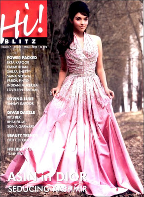 Asin features in March issue of Hi Blitz