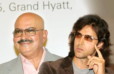 Something wrong between Hrithik and Rakesh Roshan