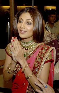 Shilpa Shetty Engagement Photos
