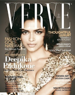 Deepika Padukone Photo Shoot for Verve Magazine (Nov 2009)
