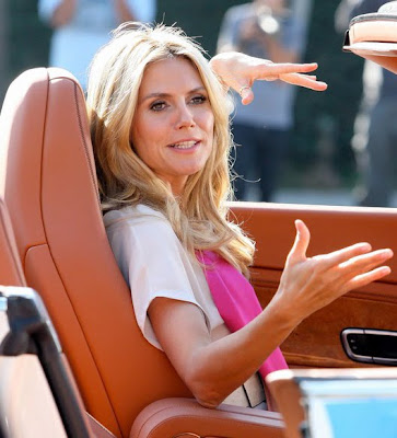 Heidi Klum and Seal in romantic reality show