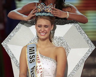 Alexandria Mills crowned Miss World 2010