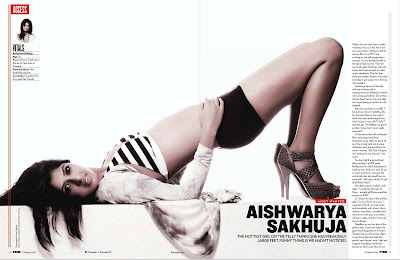 Aishwarya Sakhuja FHM India Photoshoot