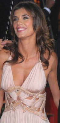 Elisabetta Canalis faces bikini slippage