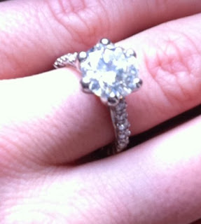 Crystal Harris engagement ring
