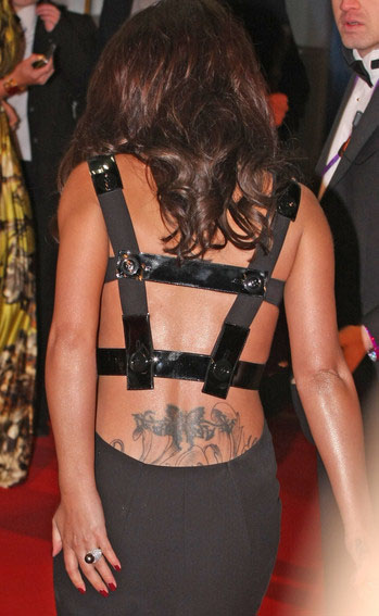 cheryl cole tattoo on bum. cheryl cole tattoo on hand. Cole, who is said to be dating