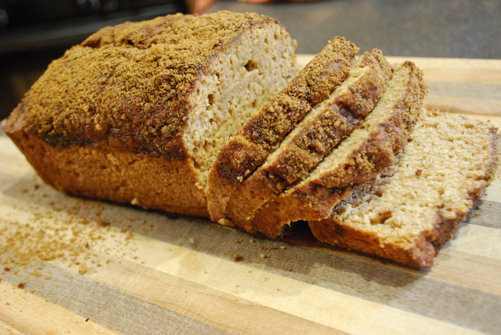 """Point-less"" Meals: Applesauce Bread"
