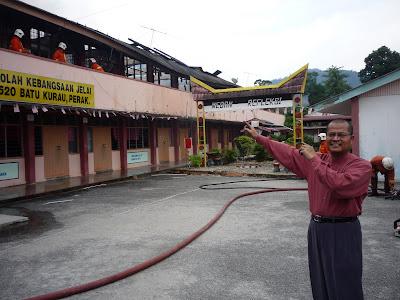 Kebakaran di Sekolah Rendah Kebangsaan Jelai, Batu Kurau