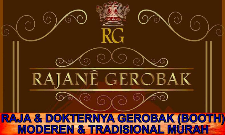RAJA &amp; DOKTERNYA GEROBAK (BOOTH) MODEREN &amp; TRADISIONAL MURAH
