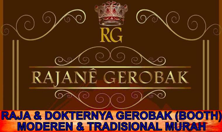RAJA & DOKTERNYA GEROBAK (BOOTH) MODEREN & TRADISIONAL MURAH