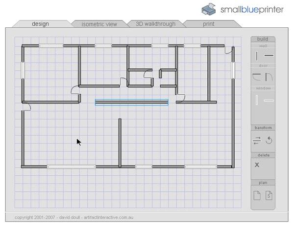 Aplicaciones smallblueprinter creando planos sencillos for Aplicacion para planos