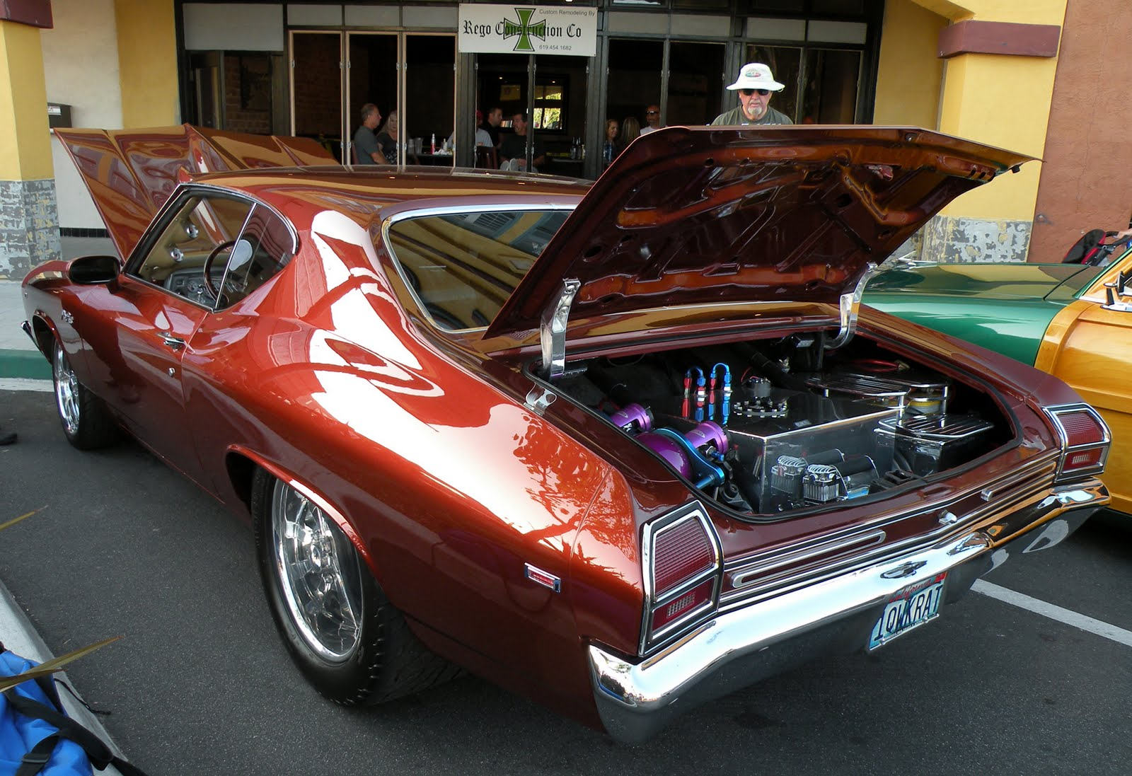 Just a car guy   A beaut of a Chevelle  great color  great pro