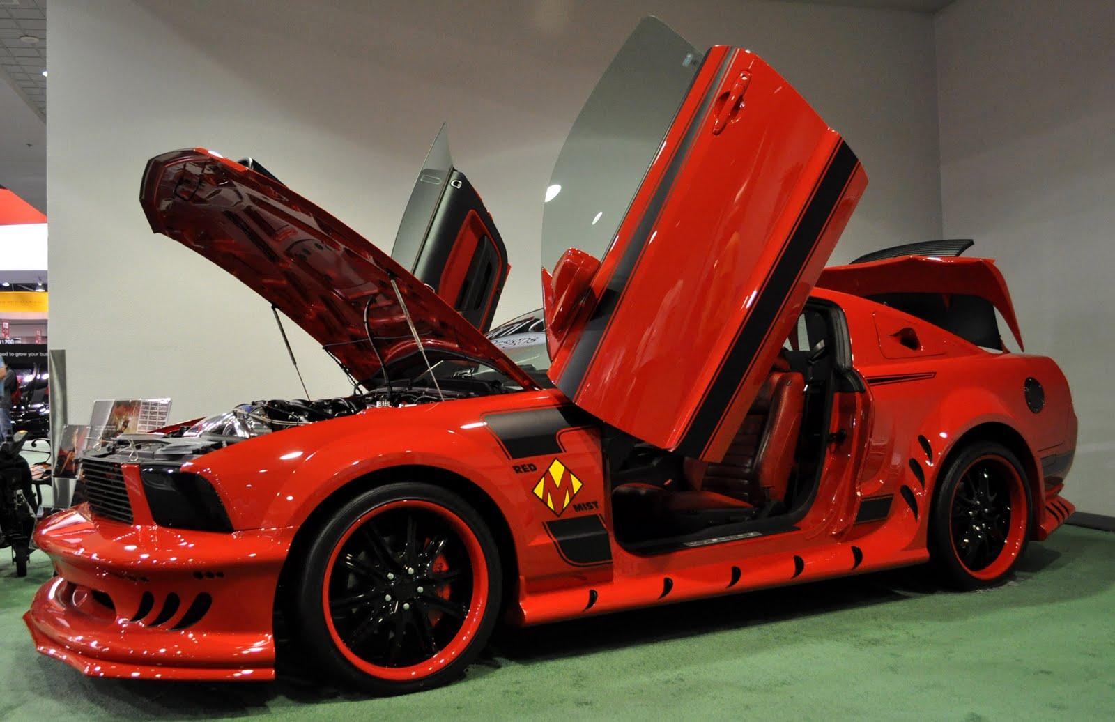 Just A Car Guy: the many Rich Evans custom Mustangs at SEMA