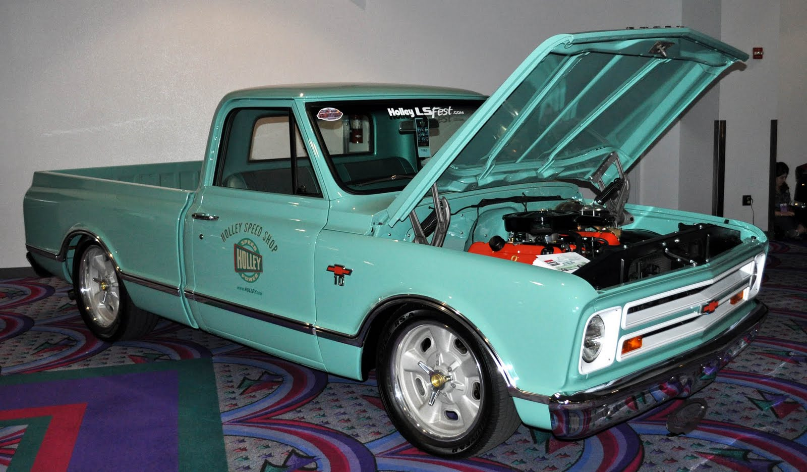 Just A Car Guy Ordinary Chevy Trucks Looking Great Due To 1968 Truck 50th Anniversary Restoration And Perfect Paint