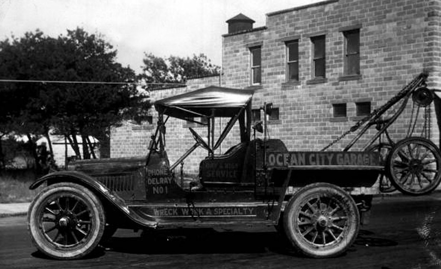 Just A Car Guy: Tow trucks were sometimes made from big used cars ...