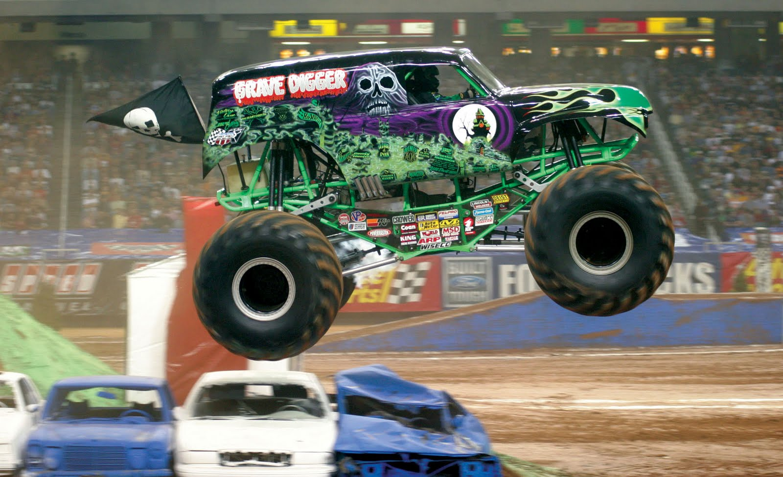 Car Reviews  The Monster Trucks are coming  16 Monster Jam trucks