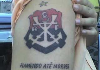 tatuagem flamengo