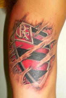 escudo flamengo tatuagem