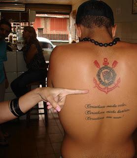escudo tattoo corinthians