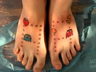 tattoo pac man