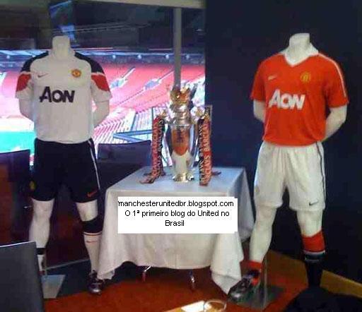 Testetesdsa: Uniformes Do Manchester United 2010/2011