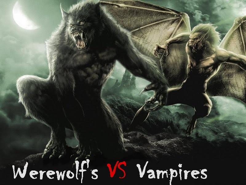 Lobisomens VS Vampiros !