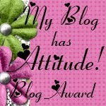 Blog Attitude Award!