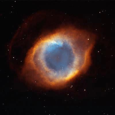 Iridescent Glory of Nearby Helix Nebula