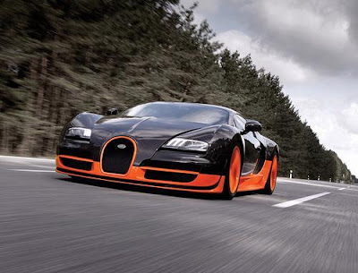 The Bugatti Veyron Super Sport