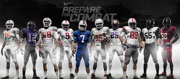 Nike Pro Combat Uniforms