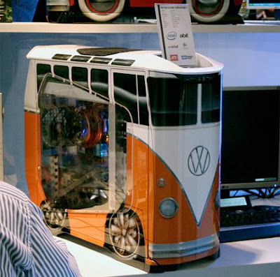 VW Bus Computer Case